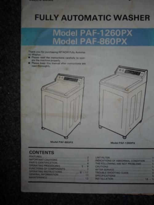 siemens washing machine instruction manual